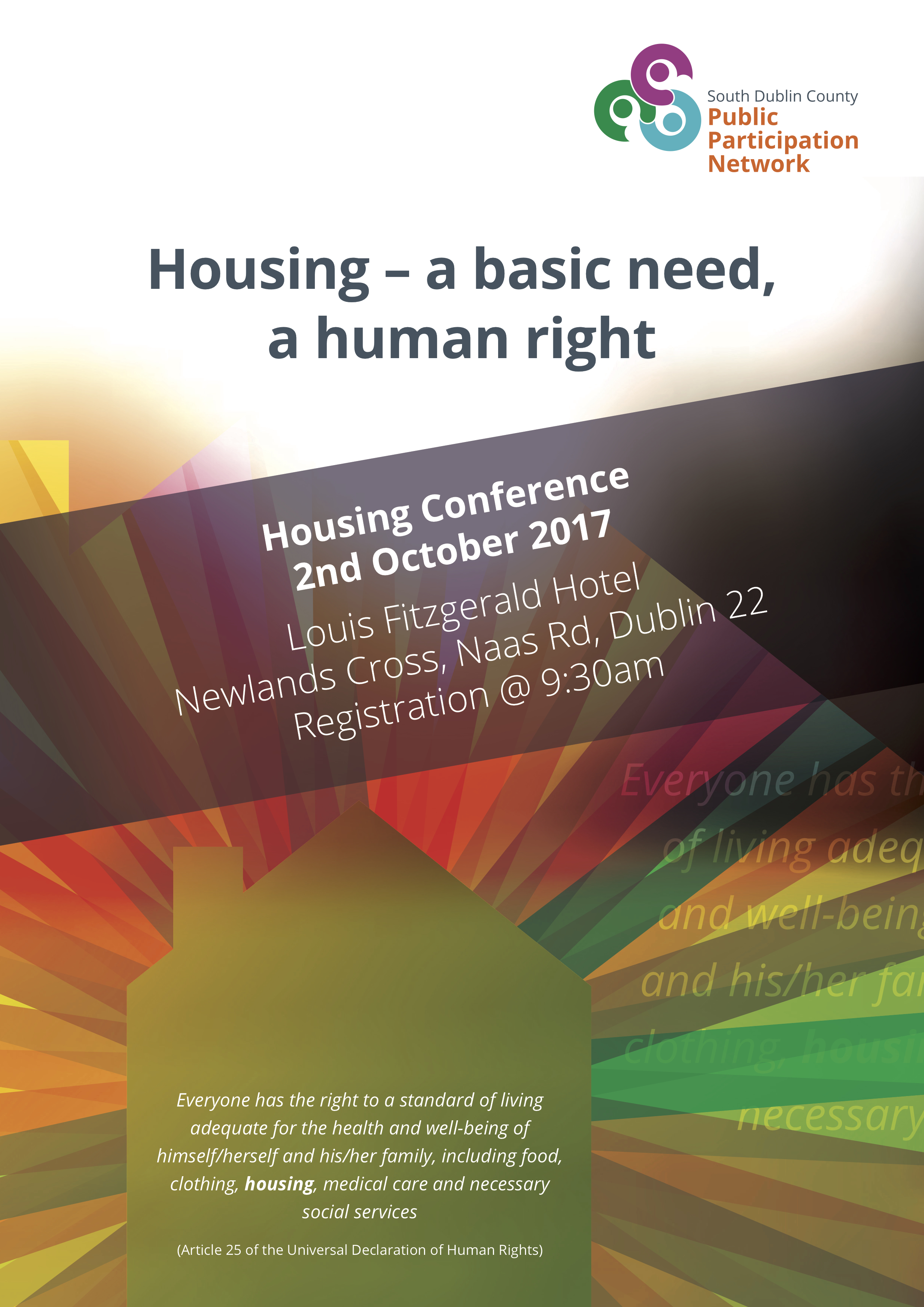 South Dublin County Public Participation Network Housing Conference